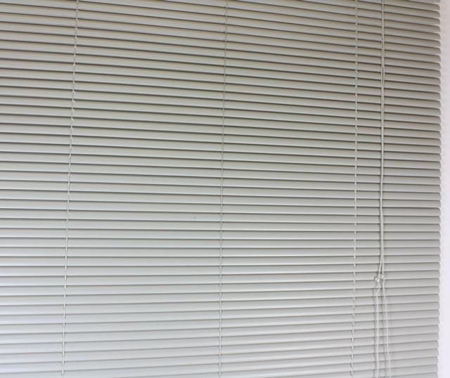 venetian blind blinds pvc grey 25mm slat 152cm 5. Black Bedroom Furniture Sets. Home Design Ideas