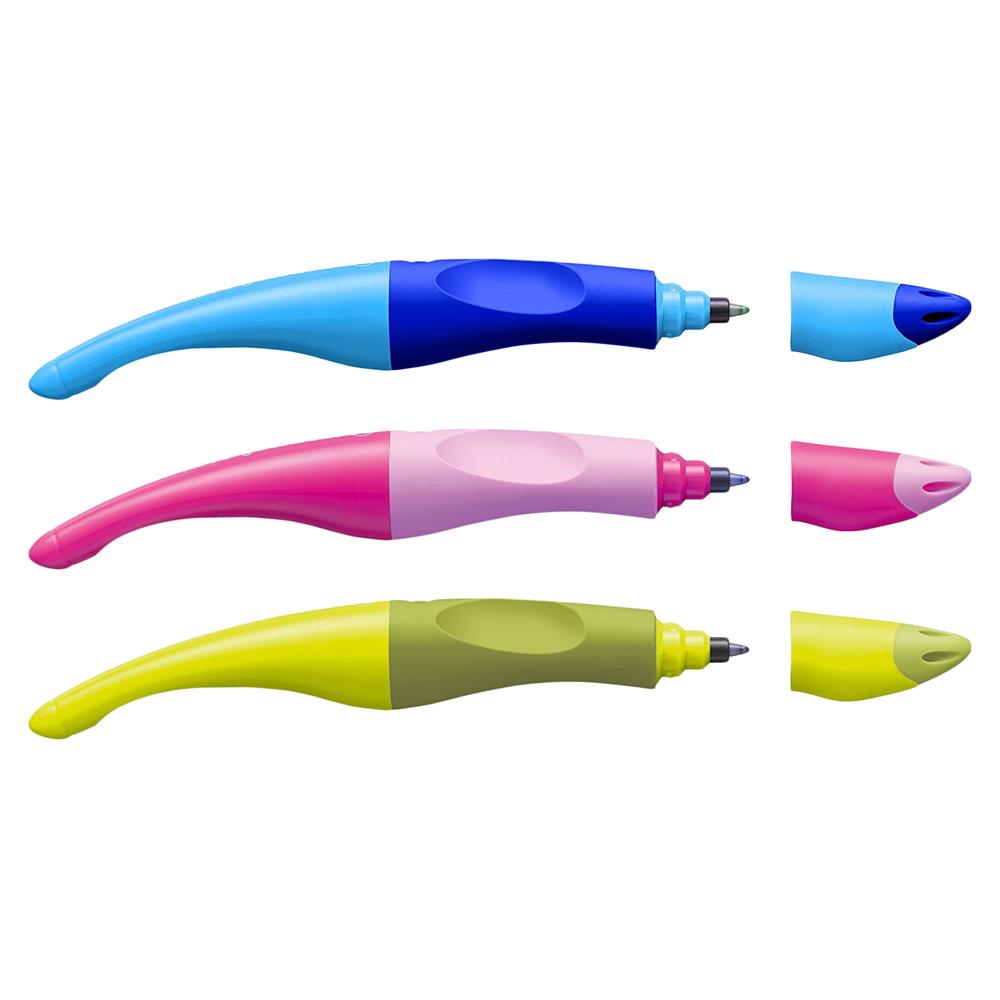 Stabilo EASYoriginal Left Handed Pen Pink Rollerball 0.5mm Ergonomic