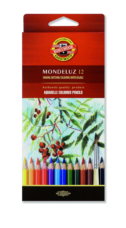 koh i noor 3715 3719 mondeluz artists aquarrell watercolour pencils ebay