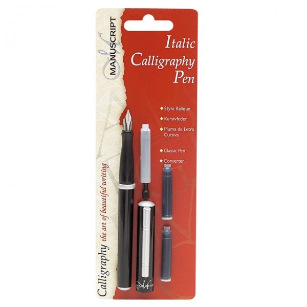 Manuscript Classic Italic Calligraphy Fountain Pen With