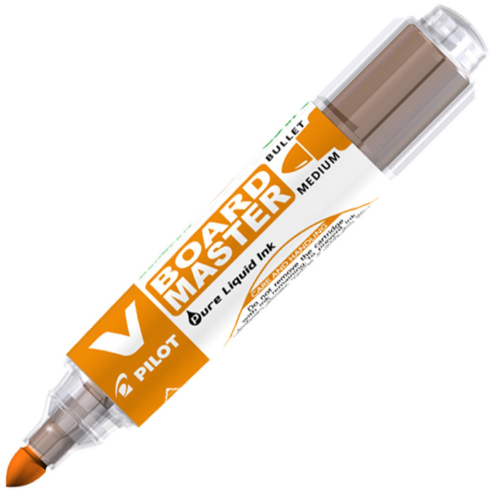 Pilot-V-Board-Master-Whiteboard-Marker-Pen-in-Bullet-Chisel-Tip-PACKS-OF-10