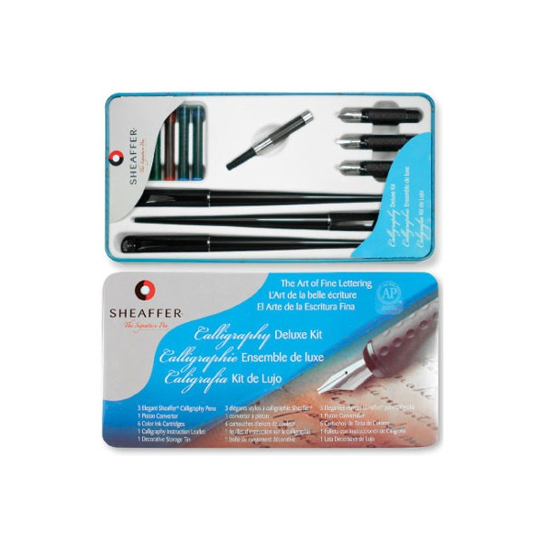 Sheaffer Calligraphy Pen Set Available In 2 Sizes Ebay