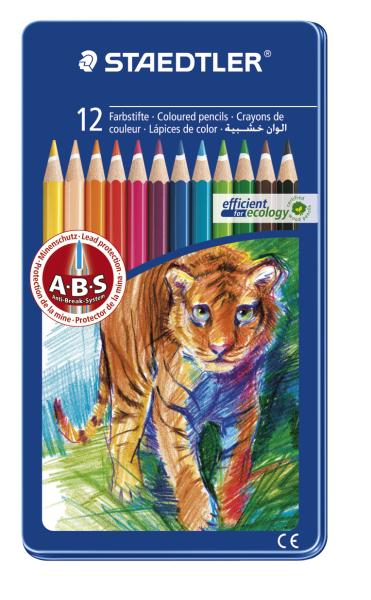 Paquete De 24 Staedtler Noris Club Lápices de Colores 185C24