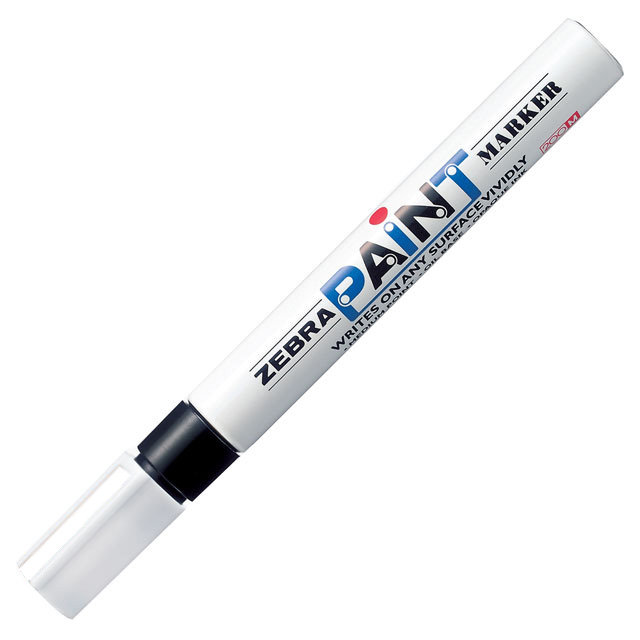 zebra paint marker pen 7 colours available as singles or